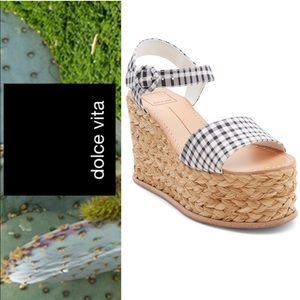 aa24d331e0f6 Dolce Vita Shoes - 🆕 Dolce Vita Gingham Espadrilles Wedges